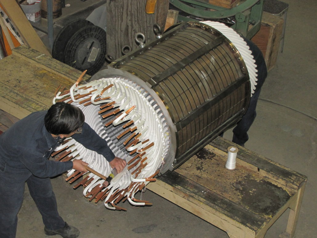 Image gallery dreisilker electric motors for Ac electric motor repair