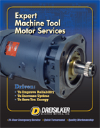 Machine Tool Motor Services