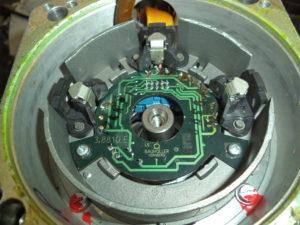 Servo Motors Aged Electronics